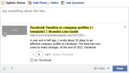 How to refresh a link title or description when sharing it on Facebook for a second time?