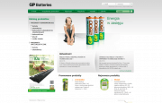 GP Battery - website