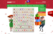 Christmas game for Onet.pl