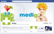 Medigo - fan page on Facebook